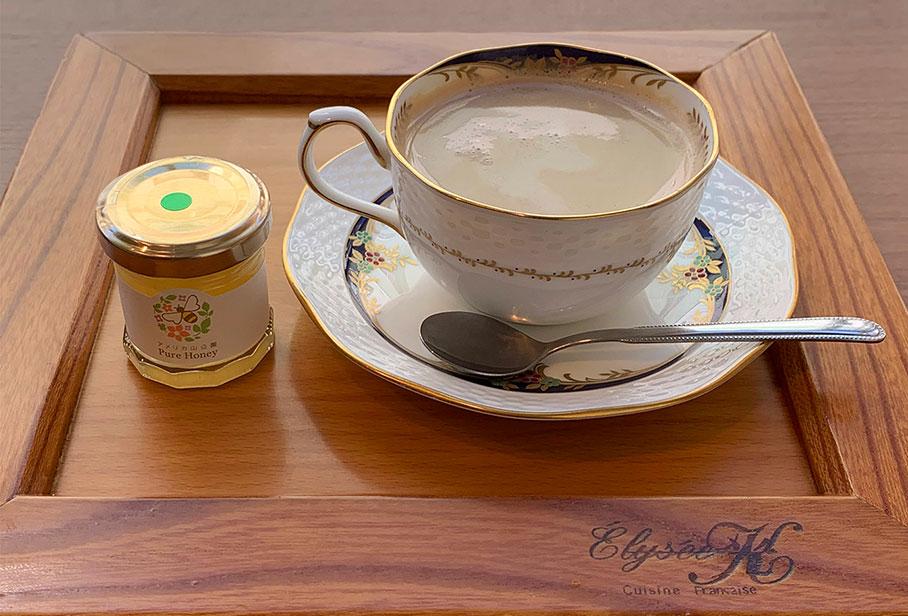 山手はちみつカフェラテ/紅茶